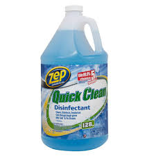 Zep Concrete Floor Cleaner by Zep 128 Oz Quick Clean Disinfectant Case Of 4 Zuqcd128 The