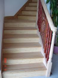 Stair Tread by Solid Prefinished Bamboo Stair Tread From Jmxbamboo