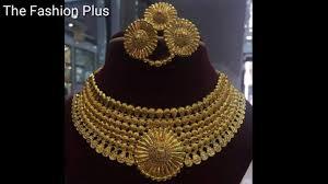 bridal gold sets gold bridal necklaces sets designs 3 tola 40 gram