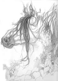 tree horse sketch by aikya on deviantart