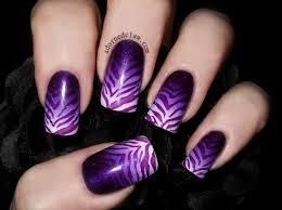 luminous nails purple silver white nails uñas pinterest simple