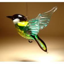 glass birds figurines blown glass hummingbirds owl heron