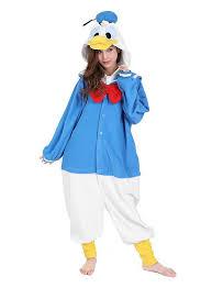 donald costume donald duck kigurumi costume maskworld