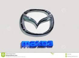 logo de mazda mazda logo editorial photo image 16501686