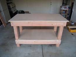 how to build a work table how to build wooden workbench pdf woodworking plans wooden workbench