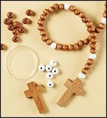 rosary kits rosary craft kit 24 pk toys
