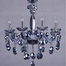 blue crystal chandelier light blue chandelier lighting for dining room restaurant blue crystal