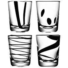 bicchieri bianchi e neri it bicchieri neri
