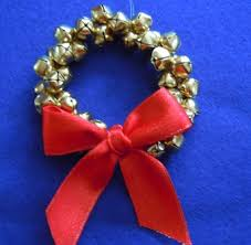 ornament craft ideas how to make jingle bell wreath