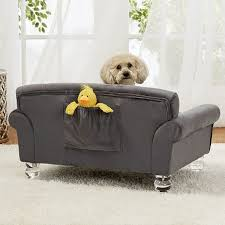 velvet luxury dog sofa bed la joie