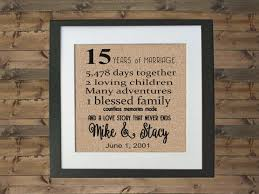 15 year anniversary gift for him 15 year anniversary gift pinteres 15 wedding anniversary