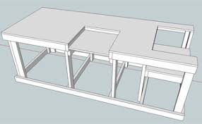 Plans For Building A Woodworking Workbench by Backyard Workshop Ultimate Workbench