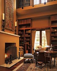 interior home spaces interior interior home library ideas with fireplace a cozy warm