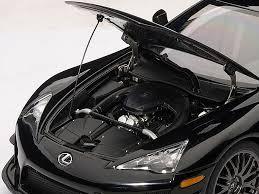 lexus lfa toy car lexus lfa nurburgring package black 1 18 diecast car model by