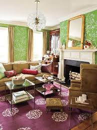 Elegant Livingrooms by 20 Living Rooms With Beautiful Floral Wallpaper Rilane