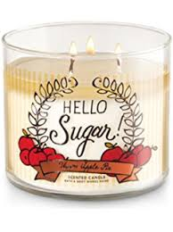 home interiors baked apple pie candle bath works warm apple pie candle 3 wick 14 5 oz