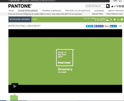 pantone chooses greenery as 2017 color year woodworking