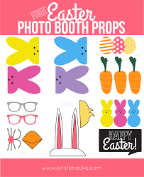 easter free printable photo booth props photo booth easter and