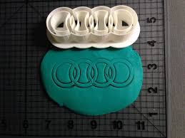 logo audi logo cookie cutter