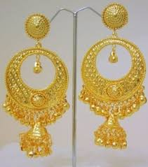 gold earrings jhumka design 22k gold jhumkas gold ornaments are bridal gold jhumka gold with
