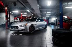 maserati quattroporte matte black maserati quattroporte gts lowered on adv 1 wheels gtspirit