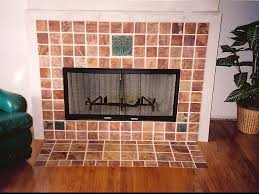 decorative tile fireplace