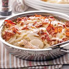 poulet cuisine gratin de poulet et pommes de terre recettes cuisine et