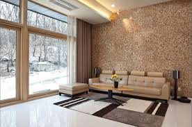 Wooden Panelling For Interior Walls - Living room wall tiles design