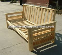 Wooden Folding Bed Wooden Futon Frame For Solid Wood Folding Sofa Bed View Folding