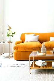 Living Room With Orange Sofa Burnt Orange Sofa Living Room Slipcover Medium Size Of Sofas Image