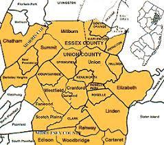 map of essex county nj nj estate areas served by white realty co union jersey