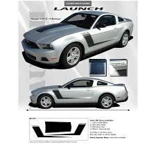 2012 ford mustang kits ford mustang gt stripe kits 2010 2012 launch 3m fastcaraccessories