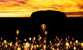 field of light uluru field of light uluru to debut at ayers rock resort on 1 april 2016
