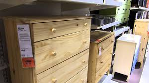 How To Update Pine Bedroom Furniture Ikea Tarva Unfinished Relatively Solid Pine Furniture Youtube
