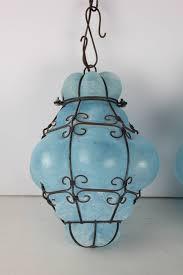 vintage seguso murano glass cage pendant lights at 1stdibs