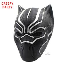 party mask black panther masks roles costume adults