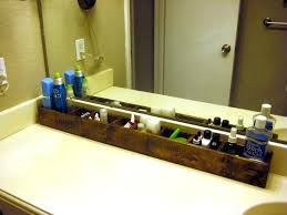 Bathroom Countertop Storage Countertop Shelves Bathroom Three Tiered Metal Storage And Display