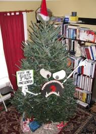 angry tree feed tree elves presents collegehumor post