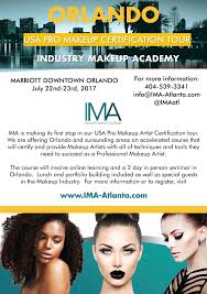 makeup schools orlando orlando makeup artists i m coming to you ima pro certification