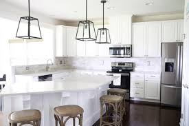 subway tile backsplash kitchen how to install a marble subway tile backsplash just a and