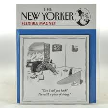 piece of string nyer magnet new yorker magnets funny humorous