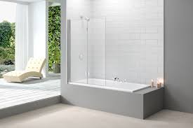 mb8 two panel folding hinged bathscreen merlyn showering more information