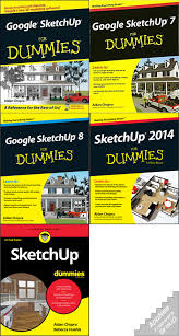 google sketchup for dummies all series of books collection