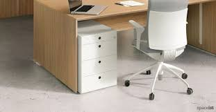 Office Desk Storage Interesting Desk Filing Cabinet Uk With White Office Storage