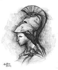 athena sketch picture athena sketch image