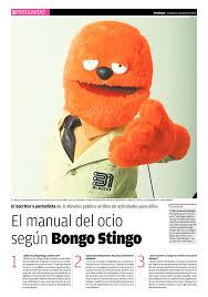 el manual del ocio según bongo stingo diarios regionales de el