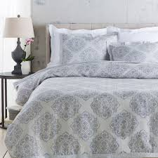 surya anniston woven linen duvet in slate boost home
