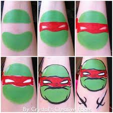 teenage mutant ninja turtles face paint google holiday