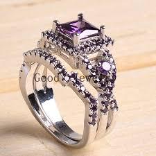 large amethyst diamond white gold online buy wholesale platinum amethyst ring from china platinum