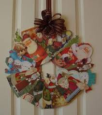 Old Christmas Cards Crafts - ruffles and stuff recycling christmas cards paper pinterest